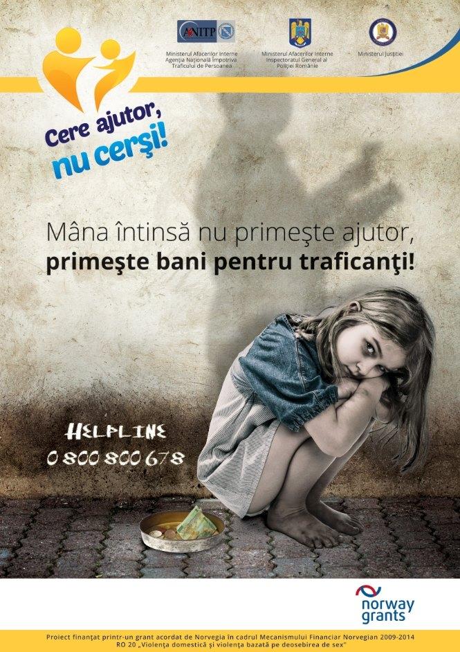 Poster Campanie NU CERSI