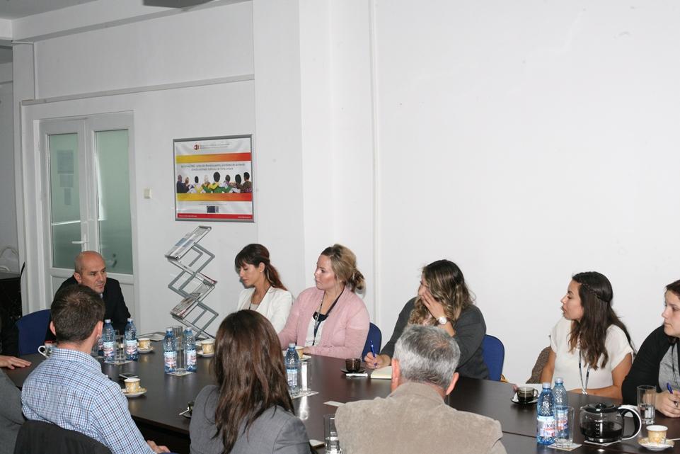 Intâlnire cu delegația Universității Vanguard din U.S.A.